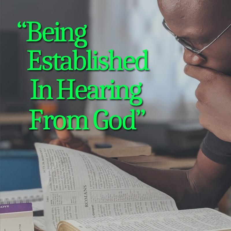 Hearing God at a new level