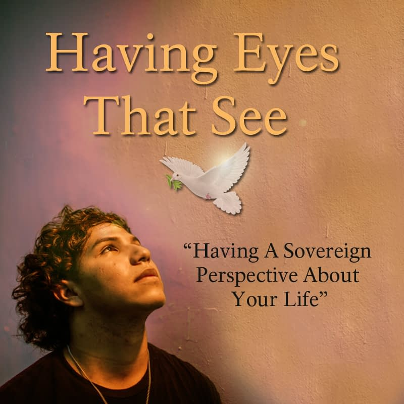 Having Eyes That See [Having A Sovereign Perspective About Your Life] Part 1